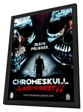 ChromeSkull: Laid to Rest 2 - 11 x 17 Movie Poster - Style A - in Deluxe Wood Frame