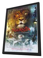 Chronicles of Narnia: The Lion, the Witch and the Wardrobe - 27 x 40 Movie Poster - Style A - in Deluxe Wood Frame