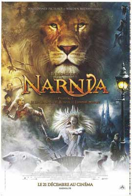 Chronicles of Narnia: The Lion, the Witch and the Wardrobe - 27 x 40 Movie Poster - French Style C