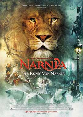 Chronicles of Narnia: The Lion, the Witch and the Wardrobe - 27 x 40 Movie Poster - German Style A