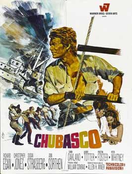 Chubasco - 11 x 17 Movie Poster - French Style A