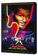 Chuck Berry: Hail! Hail! Rock 'n' Roll - 27 x 40 Movie Poster - Style A - Museum Wrapped Canvas