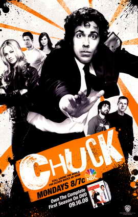 Chuck (TV) - 11 x 17 TV Poster - Style D