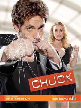 Chuck (TV) - 11 x 14 TV Poster - Style B
