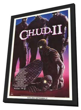 C.H.U.D. II - Bud the Chud - 11 x 17 Movie Poster - Style A - in Deluxe Wood Frame
