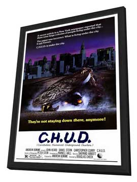 C.H.U.D. - 27 x 40 Movie Poster - Style A - in Deluxe Wood Frame