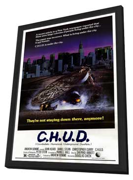 C.H.U.D. - 11 x 17 Movie Poster - Style A - in Deluxe Wood Frame