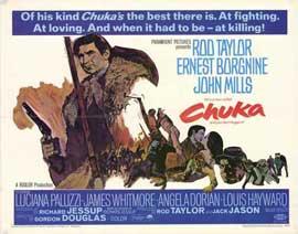 Chuka - 11 x 14 Movie Poster - Style A