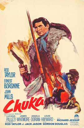Chuka - 11 x 17 Movie Poster - Belgian Style A