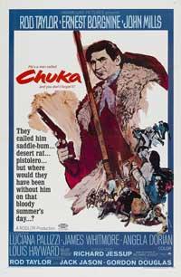 Chuka - 11 x 17 Movie Poster - Style B