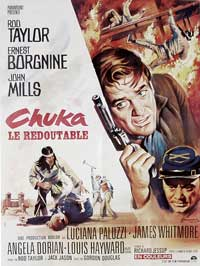 Chuka - 11 x 17 Movie Poster - French Style A