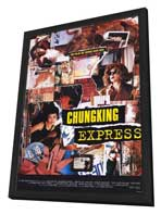Chungking Express - 11 x 17 Movie Poster - Style A - in Deluxe Wood Frame