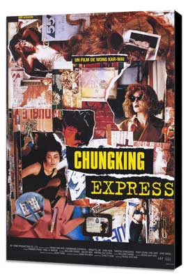 Chungking Express - 11 x 17 Movie Poster - Style A - Museum Wrapped Canvas
