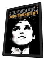 Ciao! Manhattan - 11 x 17 Movie Poster - Style A - in Deluxe Wood Frame