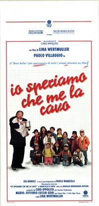 Ciao, Professore! - 13 x 28 Movie Poster - Italian Style A