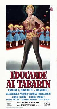 Cigarettes, Whiskey and Wild Women - 13 x 28 Movie Poster - Italian Style A