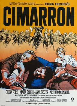 Cimarron - 11 x 17 Movie Poster - Danish Style A