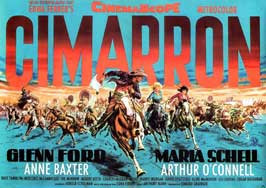 Cimarron - 27 x 40 Movie Poster - German Style A