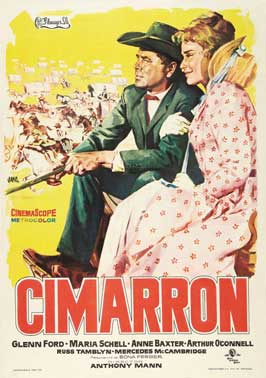 Cimarron - 11 x 17 Movie Poster - Spanish Style A