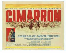 Cimarron - 11 x 14 Movie Poster - Style A