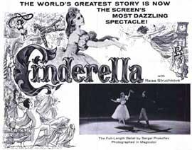 Cinderella (Ballet) - 11 x 14 Movie Poster - Style A