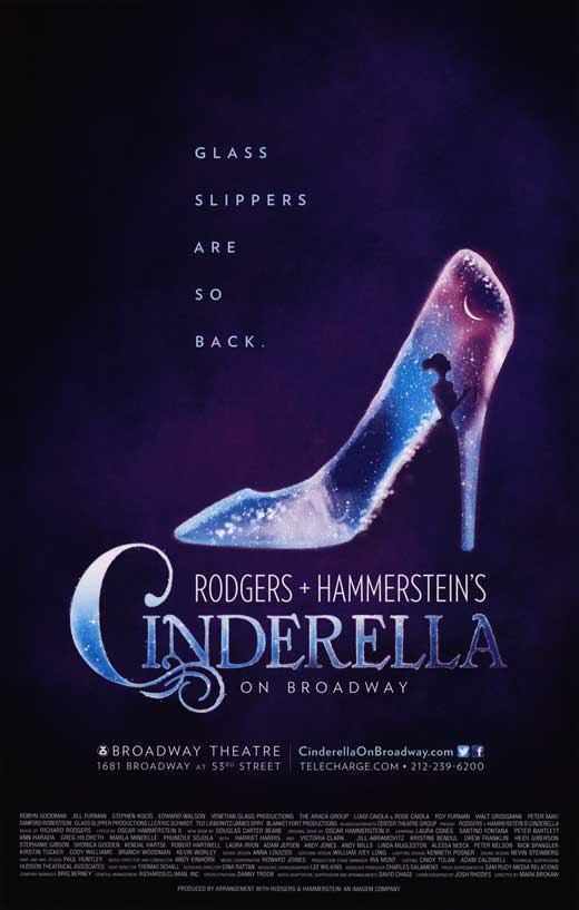Cinderella Broadway Movie Posters From Movie Poster Shop