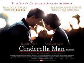 Cinderella Man - 11 x 17 Movie Poster - Style E