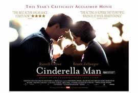 Cinderella Man - 27 x 40 Movie Poster - Style E