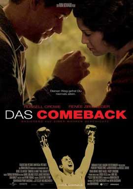 Cinderella Man - 11 x 17 Movie Poster - German Style A