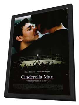 Cinderella Man - 27 x 40 Movie Poster - Style A - in Deluxe Wood Frame