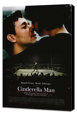 Cinderella Man - 27 x 40 Movie Poster - Style A - Museum Wrapped Canvas