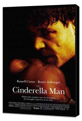 Cinderella Man - 27 x 40 Movie Poster - Style C - Museum Wrapped Canvas