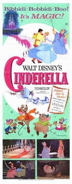 Cinderella - 14 x 36 Movie Poster - Insert Style A