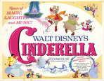 Cinderella - 22 x 28 Movie Poster - Half Sheet Style A