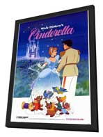 Cinderella - 11 x 17 Movie Poster - Style A - in Deluxe Wood Frame