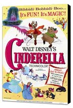 Cinderella - 11 x 17 Movie Poster - Style A - Museum Wrapped Canvas