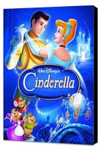 Cinderella - 27 x 40 Movie Poster - Style D - Museum Wrapped Canvas