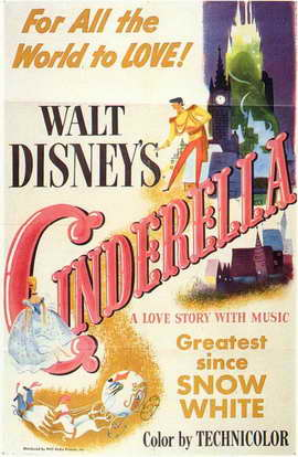 Cinderella - 11 x 17 Movie Poster - Style A
