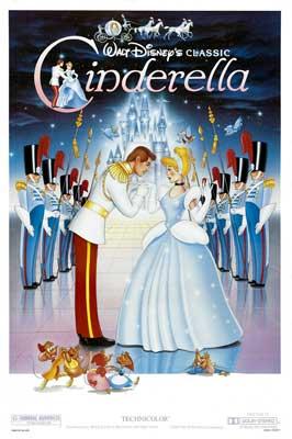 Cinderella - 27 x 40 Movie Poster - Style E