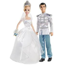 Cinderella - Disney Princess Fairytale Wedding Dolls Set