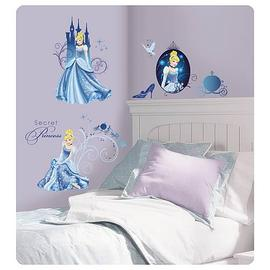 Cinderella - Disney Princess Glamour Wall Decals