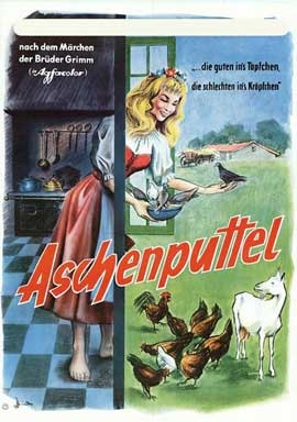Cinderella - 27 x 40 Movie Poster - German Style A