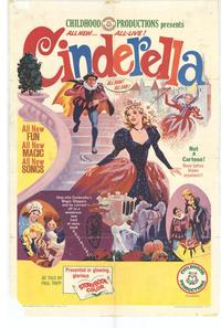 Cinderella - 27 x 40 Movie Poster - Style A