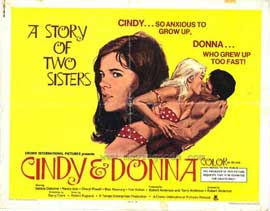 Cindy and Donna - 11 x 14 Movie Poster - Style A