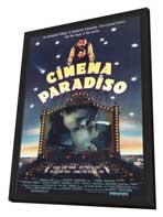 Cinema Paradiso - 11 x 17 Movie Poster - Style B - in Deluxe Wood Frame