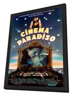 Cinema Paradiso - 27 x 40 Movie Poster - Style C - in Deluxe Wood Frame