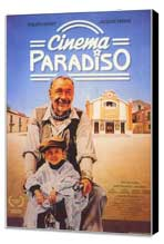 Cinema Paradiso - 11 x 17 Movie Poster - German Style A - Museum Wrapped Canvas