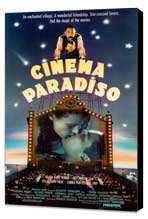 Cinema Paradiso - 27 x 40 Movie Poster - Style C - Museum Wrapped Canvas