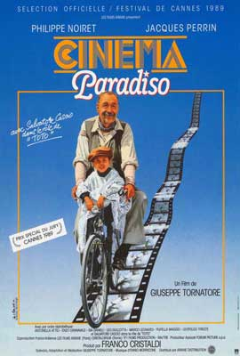 Cinema Paradiso - 27 x 40 Movie Poster - French Style A