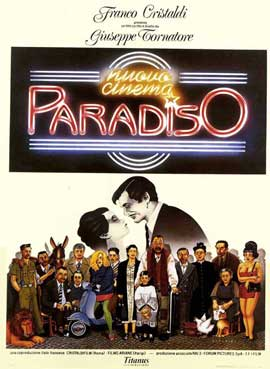 Cinema Paradiso - 11 x 17 Movie Poster - Style A